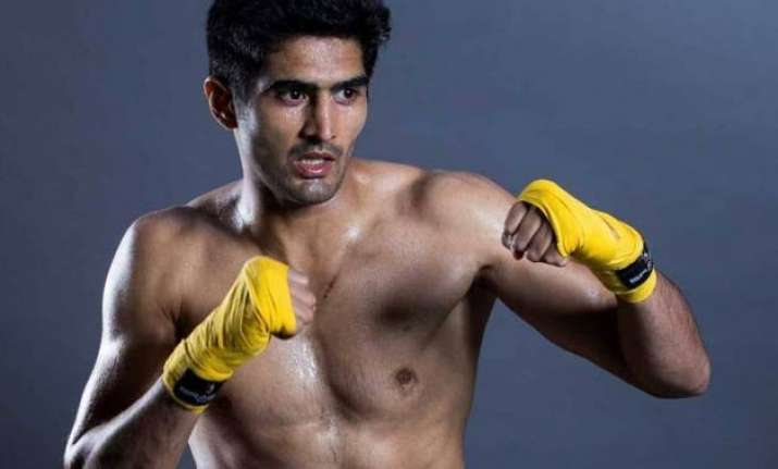vijender singh promises explosive fight on pro debut