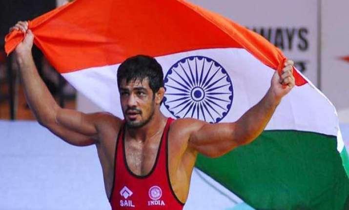 wrestler sushil kumar sets sights on world championships
