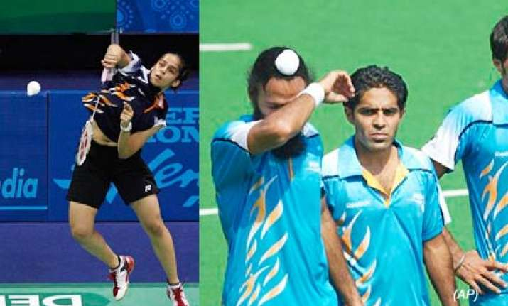 shuttlers pitchfork india to second spot in games