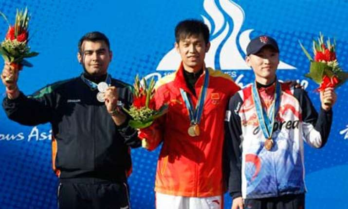 asiad narang provides india with silver lining on opening