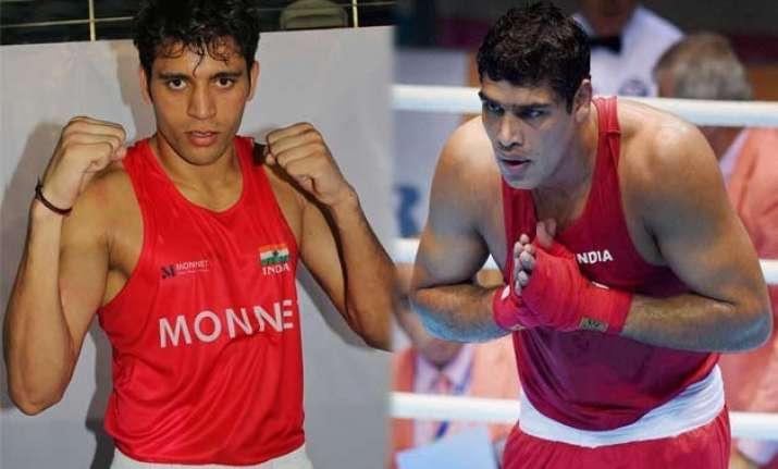 sangwan satish win gold in boxing nationals