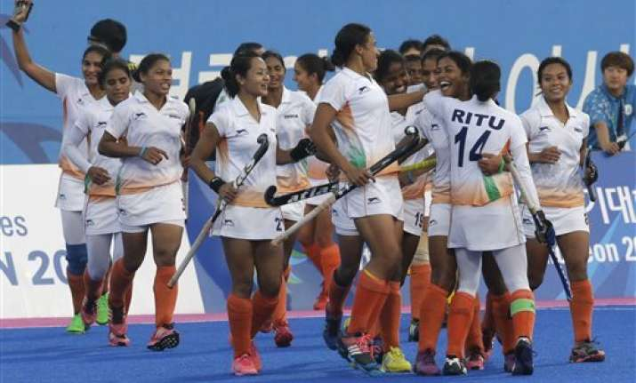 asian games indian women win hockey bronze