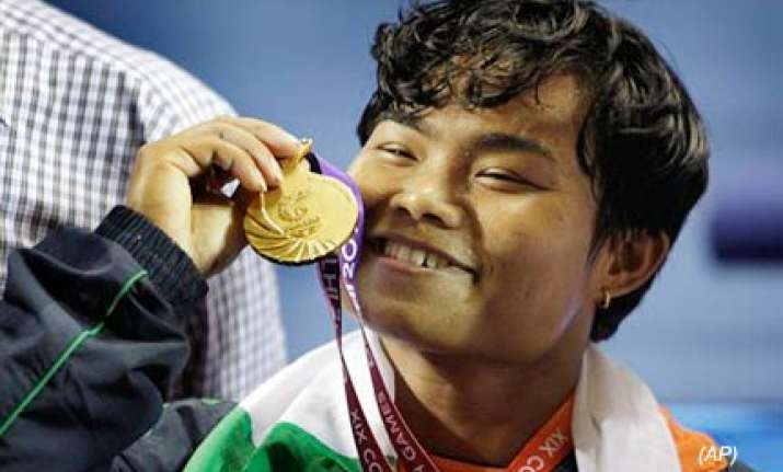 renu bala gives india first gold in weightlifting