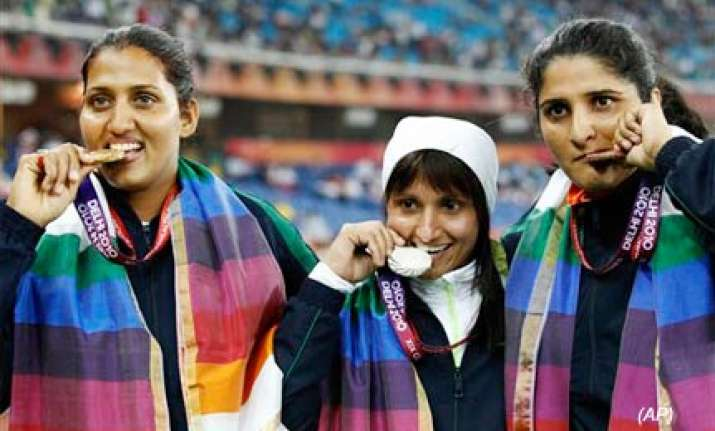 india create games history by finishing second in medals