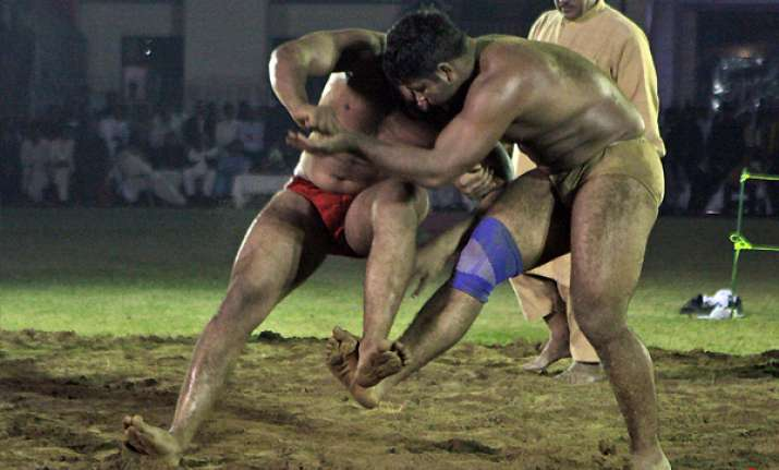 india pak tied 1 1 in wrestling championship