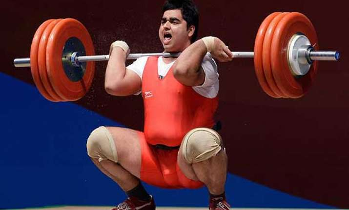 india end commonwealth weightlifting with 45 medals