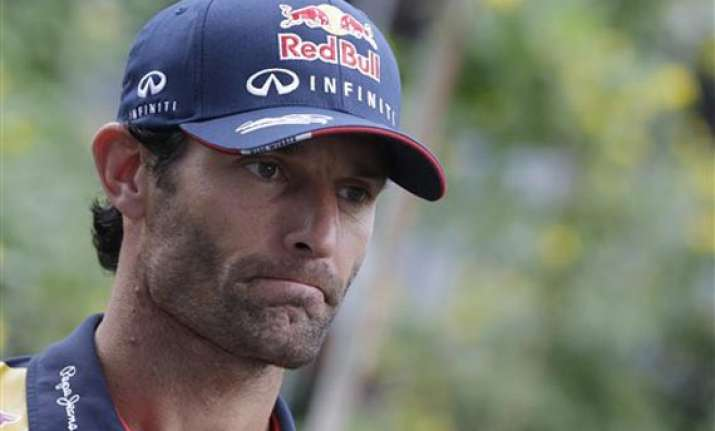 indian gp webber aiming to spoil vettel s f1 title party