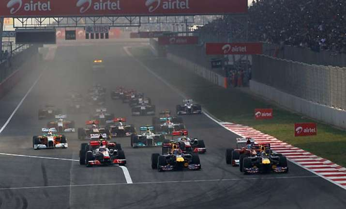 indian grand prix top foreign drivers support race