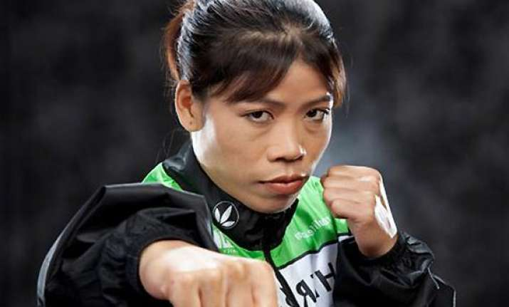 indian grand prix mary kom will wave off chequered flag