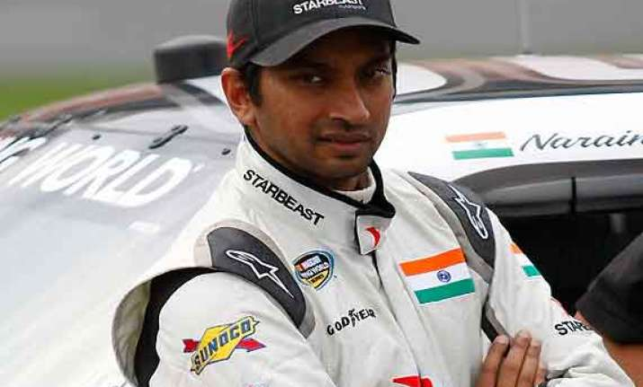 indian grand prix karthikeyan was really fast says ex