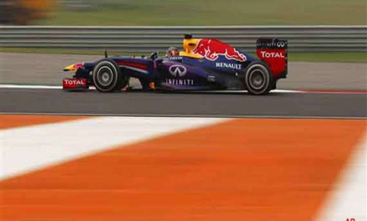indian grand prix red bull eyes title fight for 2nd heats up