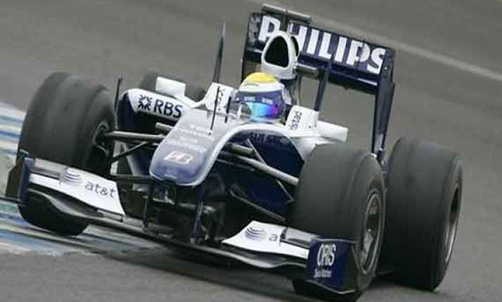 indian grand prix williams fined 60 000 euros
