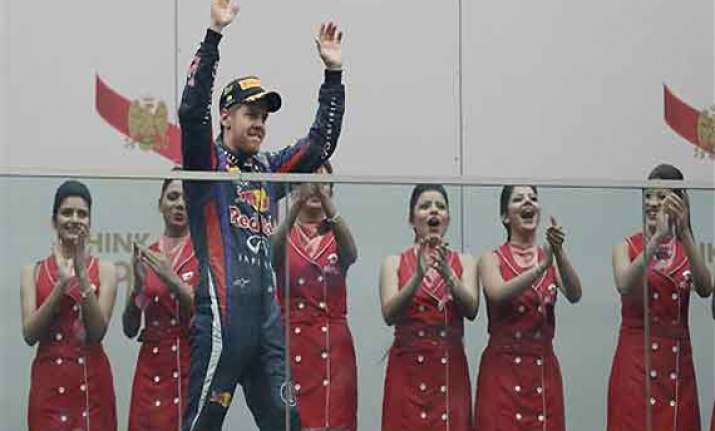 indian grand prix vettel claims 4th straight world title
