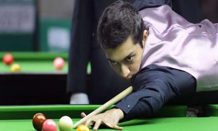 indian open world snooker mehta beat ex world champ ebdon