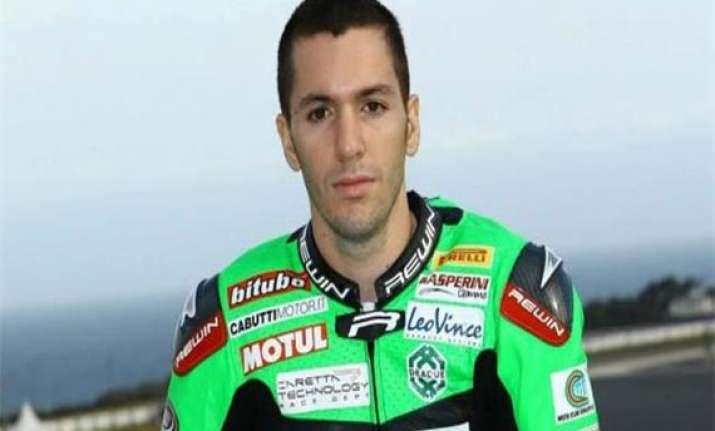 italian superbike racer dies in fatal crash