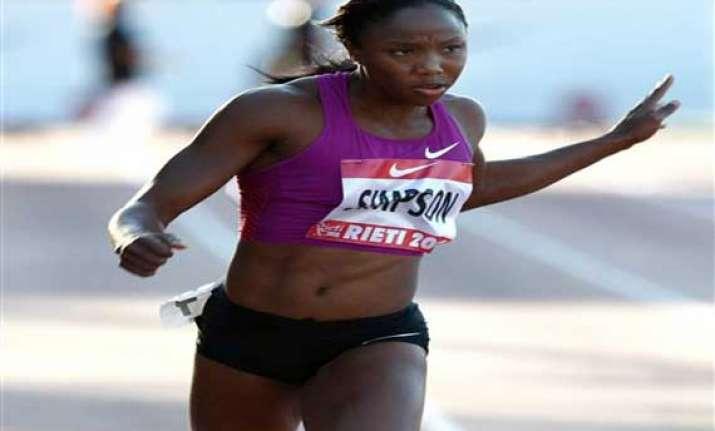 jamaican sprinter simpson gets ban