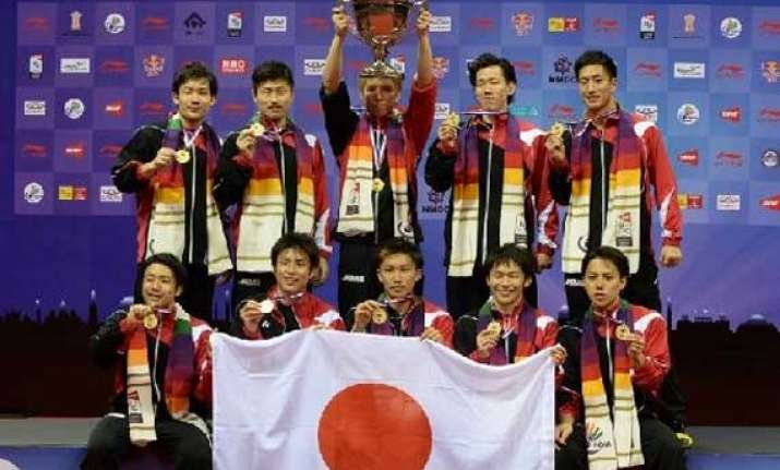 japan claims maiden thomas cup title