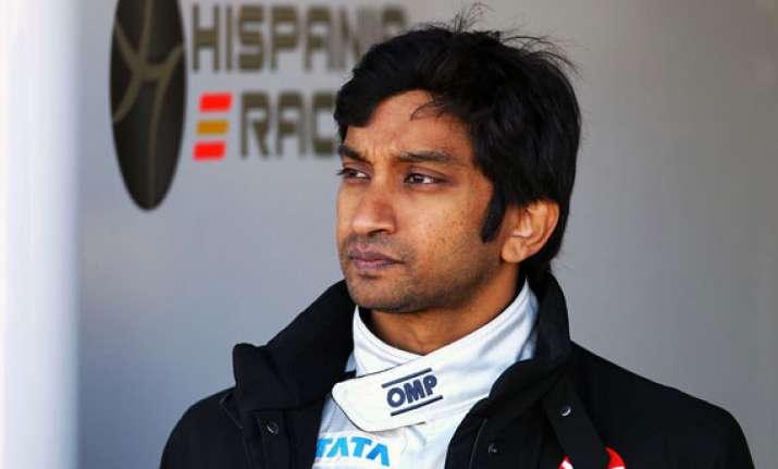 karthikeyan to race in 2014 super formula season