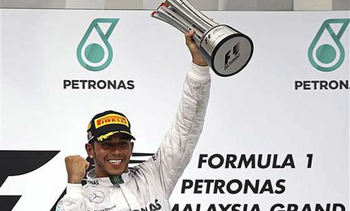 lewis hamilton wins malaysian grand prix.