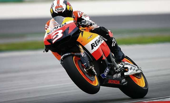 malaysian motogp pedrosa claims third victory of the season