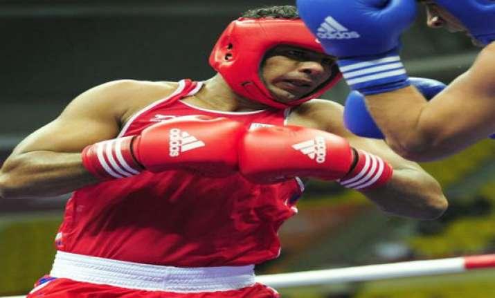 manpreet enters pre quarters of world boxing