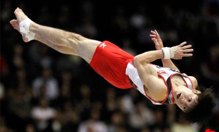 maroney uchimura get second golds at gym worlds