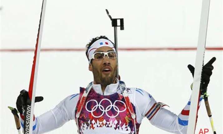 martin fourcade wins gold in men s 12.5k pursuit in sochi