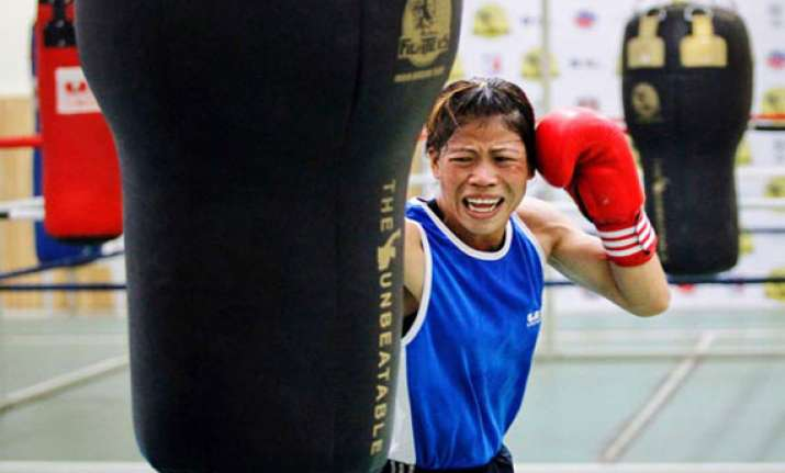mary kom dropped from indian boxing squad for cwg