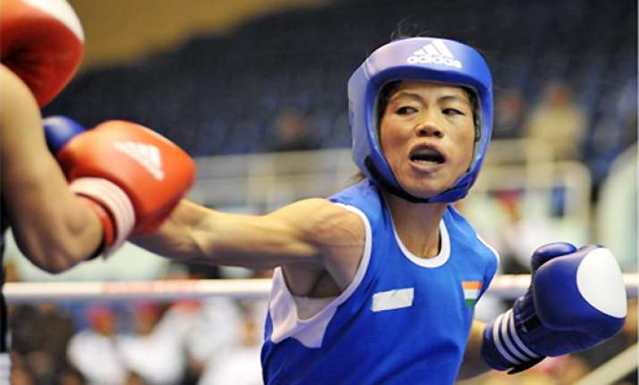 mary kom seeded 7th gets first round bye at world