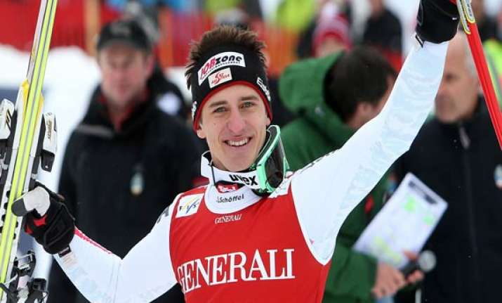 matthias mayer wins the olympic downhill