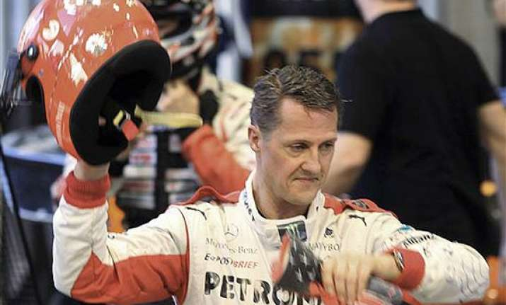 michael schumacher was awake for hospital transfer report