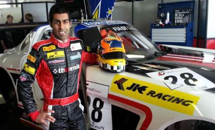 motorsports chandhok and team finish seventh