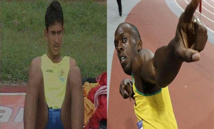 usain bolt s coach to train odisha sprinter amiya mallick