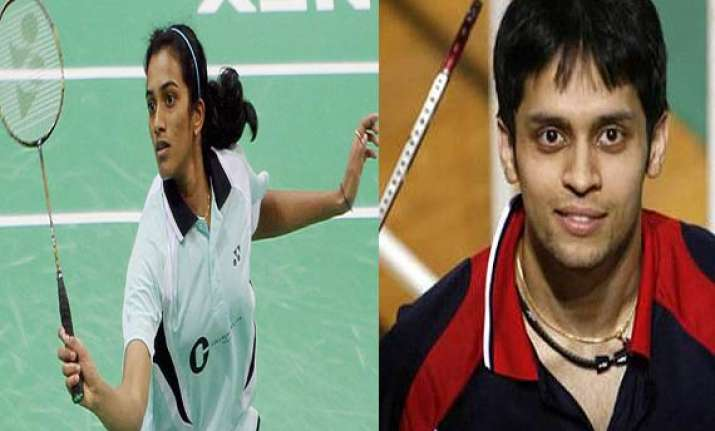 p.v sindhu p kashyap out from swiss open semis.