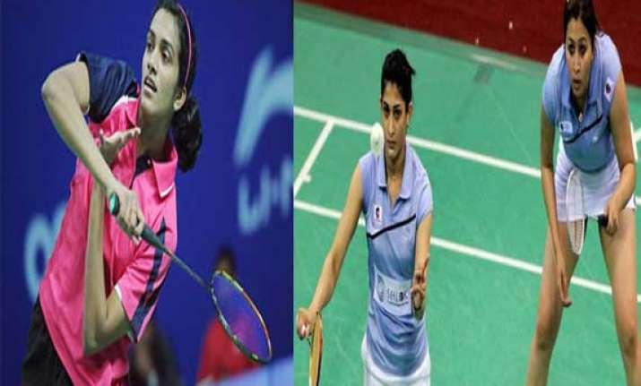 sindhu and jwala ashwini lose settle for bronze