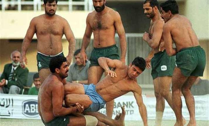 pakistani kabaddi players to vie in indian league