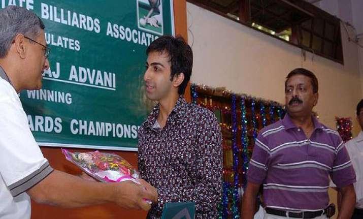 pankaj advani rupesh shah felicitated