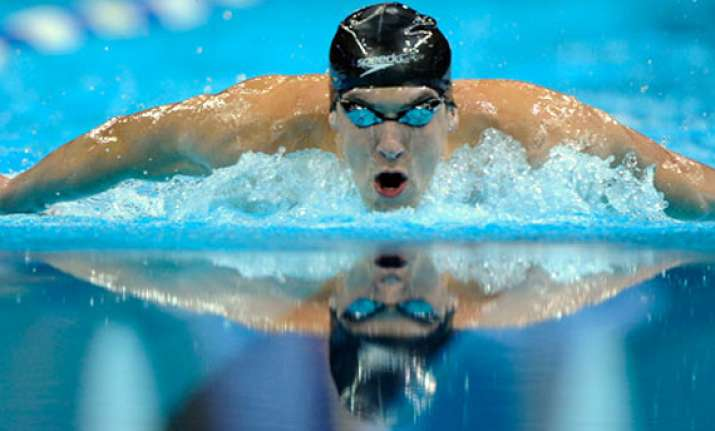 phelps wins 5th gold medal at minneapolis gp