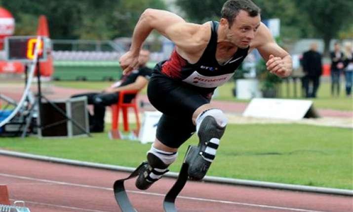 pistorius du toit in south africa paralympics team