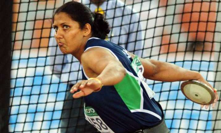 poonia qualifies for london olympics with gold at us meet
