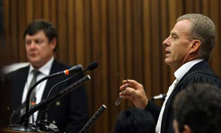 prosecutor says pistorius is an egotist