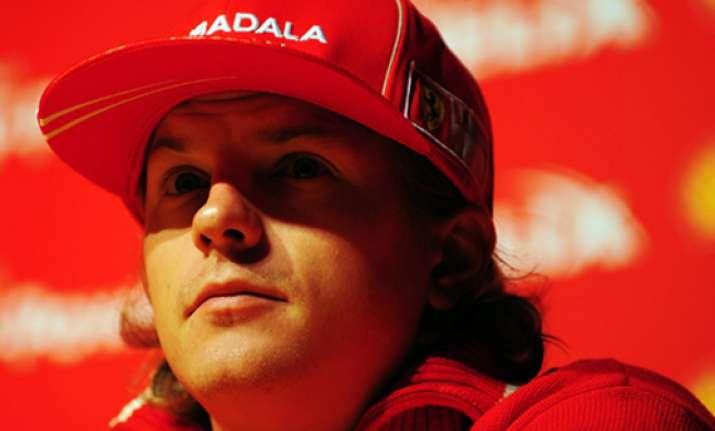 raikkonen returns to f1 with lotus renault