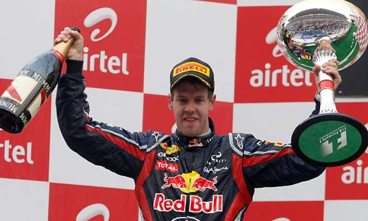 red bull s vettel wins f1 indian gp