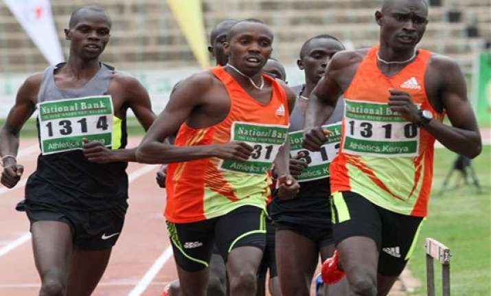 rudisha makes sure of place on kenya olympic team