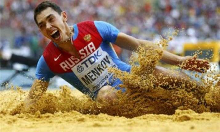 russia s aleksandr menkov wins men s long jump
