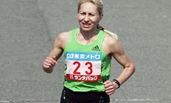 russia s aryasova stripped of tokyo marathon title