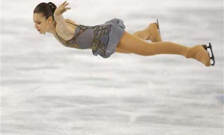 russian sotnikova wins gold kim silver