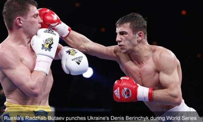 russian ukrainian boxing teams put aside tensions