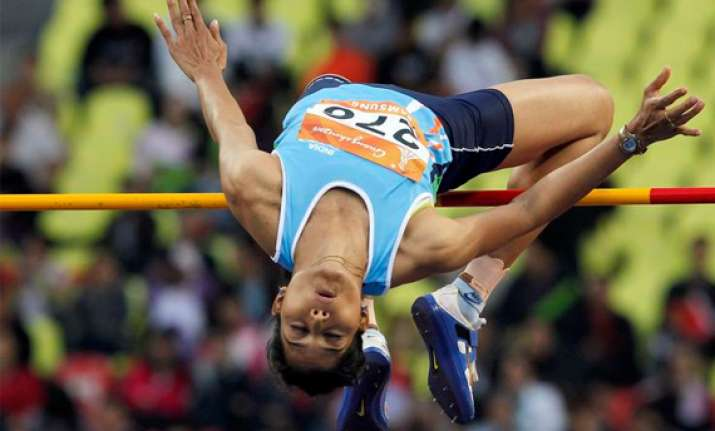 sahana kumari qualifies for london olympics