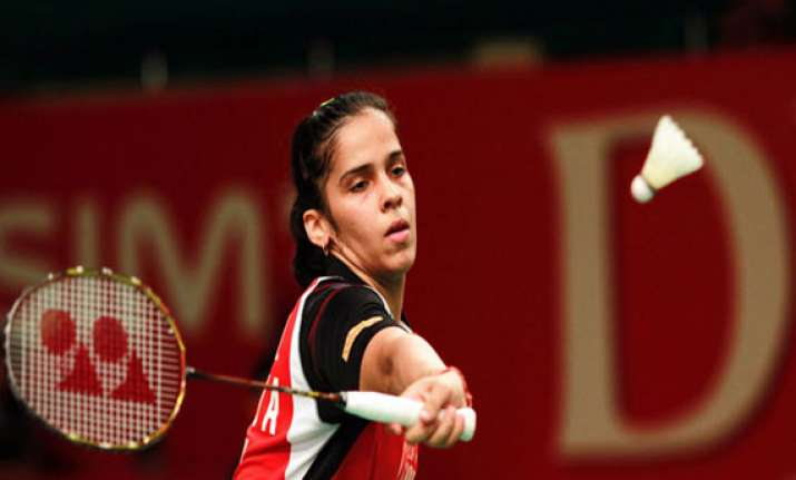 saina sindhu inch forward jwala ashwini crash out in french